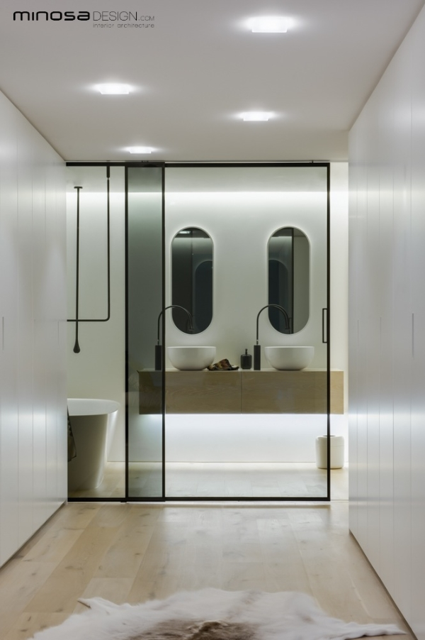 Bathroom ideas clean lines for Clean bathroom designs