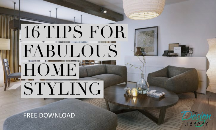 16 Tips For Fabulous Home Styling
