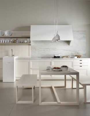 17 White Kitchen Designs Inpirations - Archiproducts - Arkadia wooden kitchen - www.designlibrary.com.au