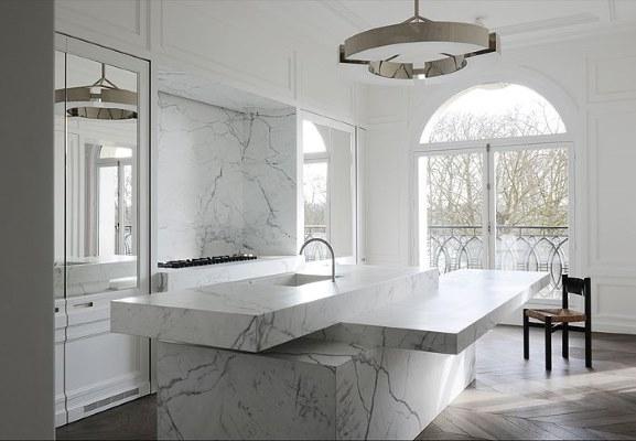 17 White Kitchen Designs Inpirations - Joseph Dirand - www.designlibrary.com.au