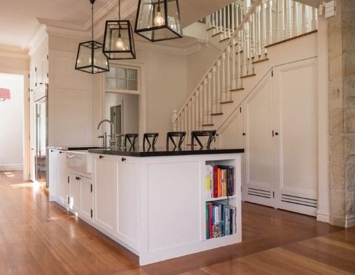 17 White Kitchen Designs Inpirations - Volpe Cabinet Making - www.designlibrary.com.au