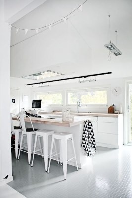 17 White Kitchen Designs Inpirations - estilo escandinavo - www.designlibrary.com.au