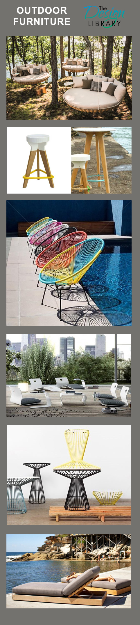 20 Great Pieces of Outdoor Furniture - DesignLibrary.com.au Where Interior Design & Architecture Meet Style