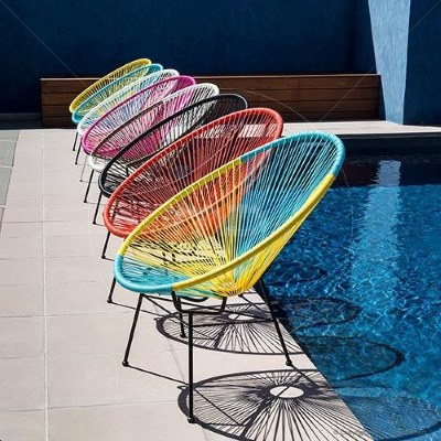 Outdoor Furniture - 20 Great Pieces to Consider - Acapulco Chair Replica - Milan Direct - www.designlibrary.com.au