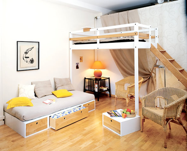 Top 10 Ideas to Small Space Living - Part A - DesignLibraryAU