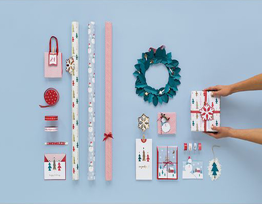 Within The Pages | DesignLibrary.com.au - Kikki K - Christmas Wrap and Trimmings