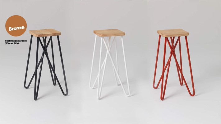 Within The Pages | www.designlibrary.com.au - Home Beautiful Dec 2014 - Essenze -Tangle Stool