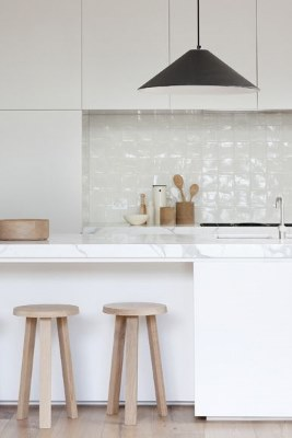 13 White Kitchen Designs Inpirations www.designlibrary.com.au - Made By Cohen - Susie Cohen
