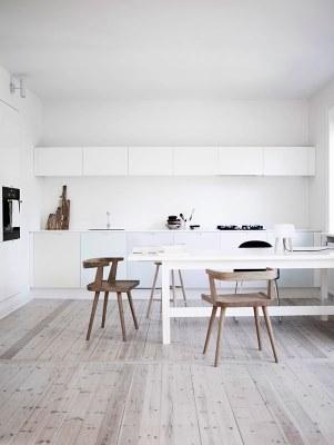 13 White Kitchen Designs Inpirations www.designlibrary.com.au - Norm. Architects Pastel Kitchen