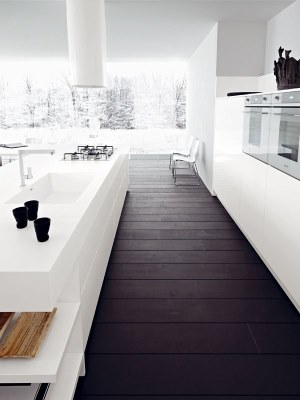 13 White Kitchen Designs Inpirations - www.designlibrary.com.au - image via Urbanite Tumblr