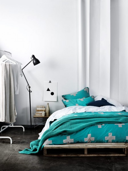 #31DaysofDesignFabulous - www.designlibrary.com.au - Day 10 -AURA Home by Tracie Ellis - Crosses in Jade
