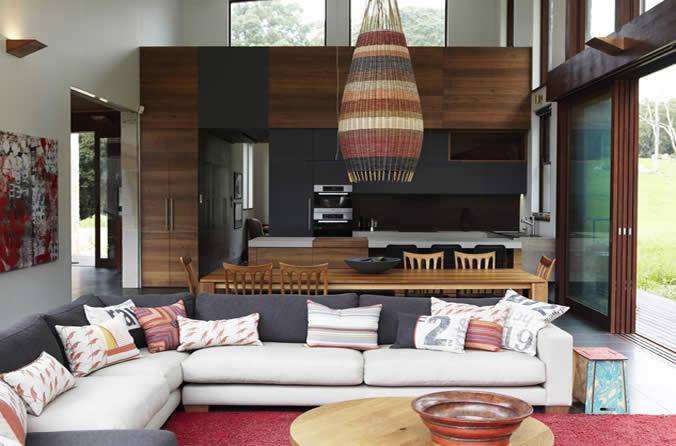 #31DaysofDesignFabulous - www.designlibrary.com.au - Day 9 - #InteriorDesign - Hare + Klein - eco lodge photographer Jenni Hare