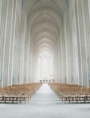 www.designlibrary.com.au Pinterest Top 10 Pins in 2014 - No1. Grundtvig Church in Copenhagen, Denmark. Jensen-Klint design.
