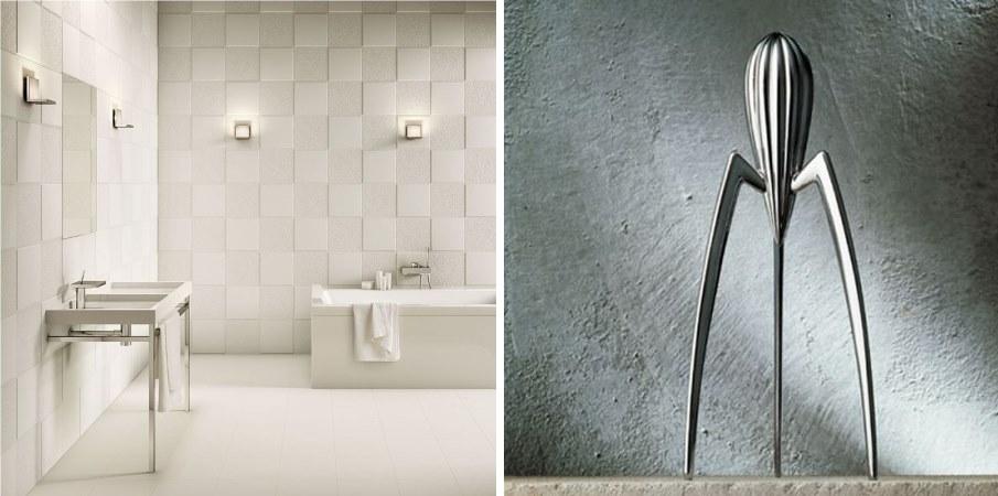 #31DaysofDesignFabulous - www.designlibrary.com.au - Day 15 - Philippe Starck - Starck + ceramica sant'agostino and Juicy Salif