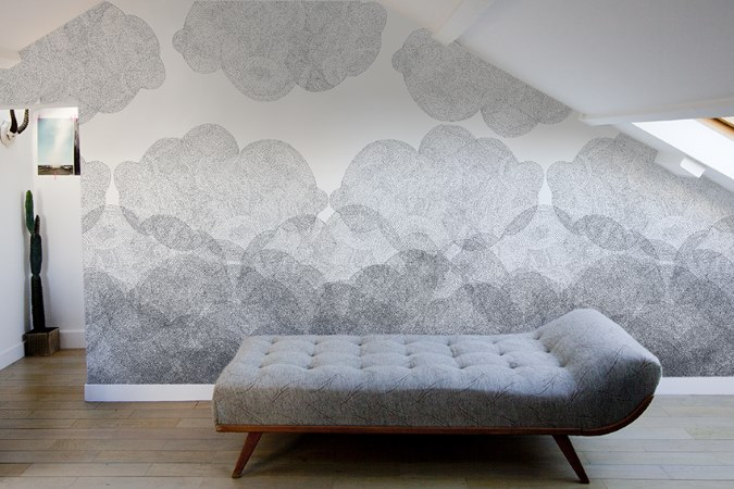 #31DaysofDesignFabulous - www.designlibrary.com.au - Day 16 - Minakani Lab - #wallpaper - Cloudy