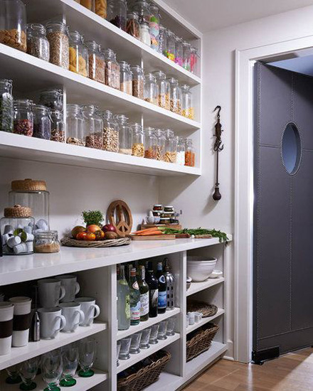 Kitchen Designs Storage Solutions - Pantry with lots of storage - www.designlibrary.com.au