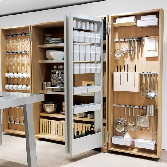 Kitchen Designs 17 Storage Solutions - The ultimate in kitchen storage cupboards - www.designlibrary.com.au