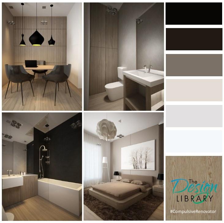 Natural Comfort Hues - Designer Colour Palette By The Compulsive Renovator - www.designlibrary.com.au