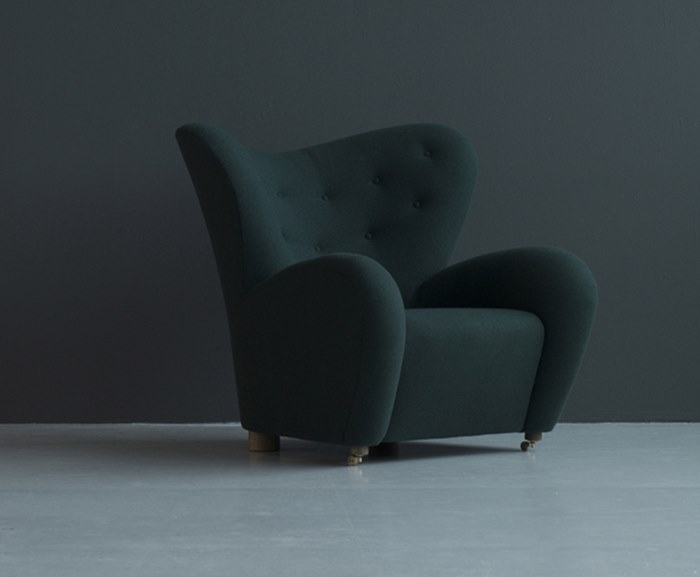 Fred International - Tired Man Armchair By Designer Flemming Lassen - Within The Pages www.designlibrary.com.au