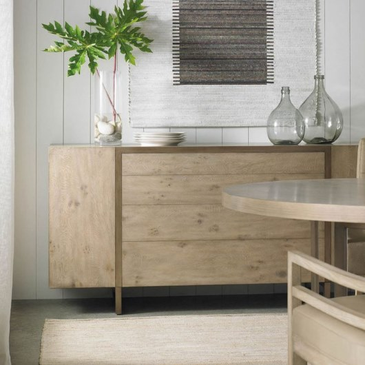 Max Sparrow - Manhattan Light Oak Touch Buffet - Interior Design Magazines - Real Living April 2015 - www.designlibrary.com.au