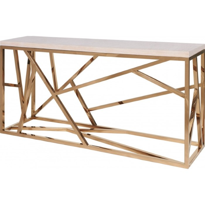 Regency Distribution - Geometric console copper - Within The Pages www.designlibrary.com.au